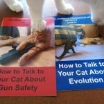 How to Talk to Your Cats About Gun Safety and Evolution